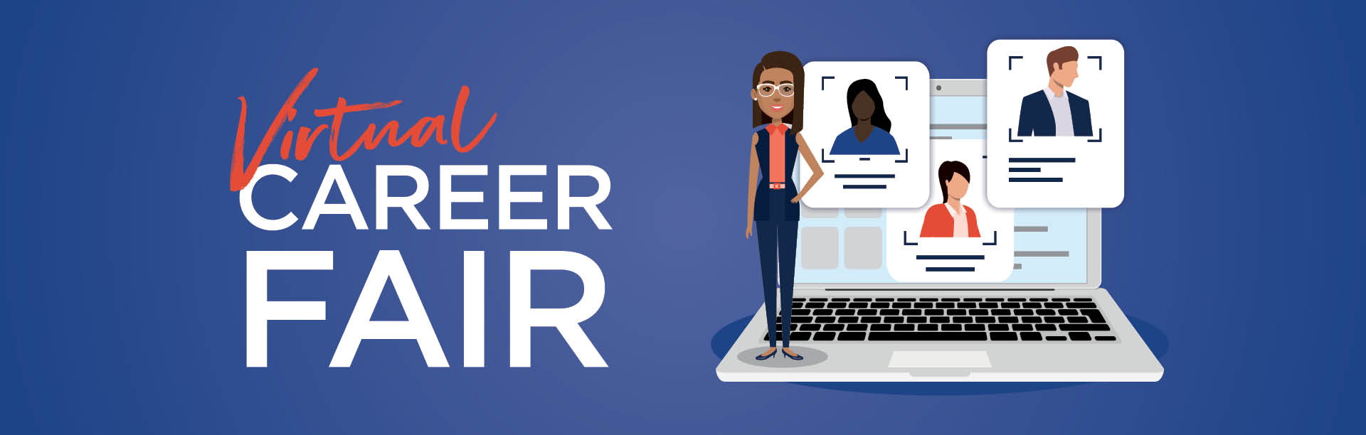 Virtual Career Fair Banner