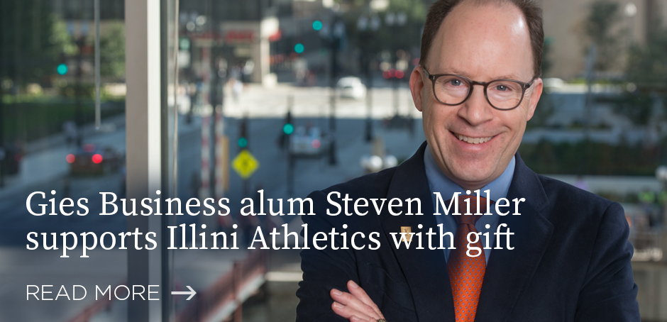 Gies alum Steven Miller makes gift to Illini Athletics