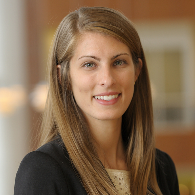 Sarah Hartley Portrait from the Full-Time MBA program