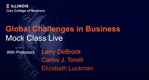 Coronavirus Business Implications Faculty Panel Webinar
