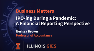 IPO-ing during a Pandemic: A Financial Reporting Perspective