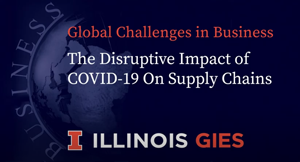 The Disruptive Impact of COVID 19 on Supply Chains